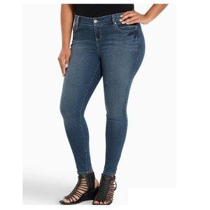 Torrid Premium Medium Wash Ultra Skinny Jeans 12